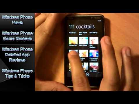 111 Cocktails App For Windows Phone