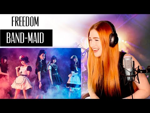VOICE COACH REACTS | BAND-MAID... Freedom.... first time listening and I have no regrets. none.