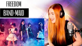 Download Lagu VOICE COACH REACTS   BAND-MAID... Freedom.... first time listening and I have no regrets. none. mp3