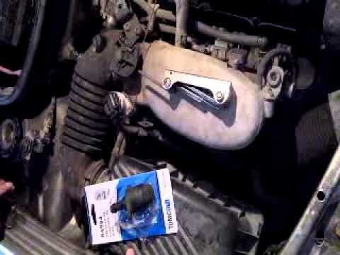Valvula IAC de VW pointer 2007 - YouTube