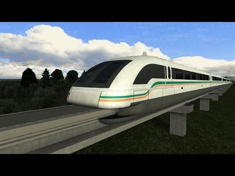 LET`S TEST Train Simulator 2016 | Test des Shanghai Maglev