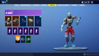 Fortnite Skin Robot Dancing 1 Hour :v