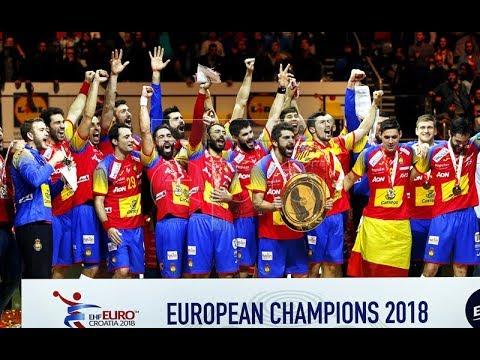 Spain vs Sweden 29:23 | The Spain Champion of the Europe | ESPAÑA CAMPEÓN  EUROPEO EN EL BALONMANO