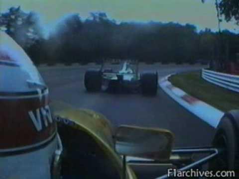Formula 1   1991 09 08   Italian GP Monza   Nelson Piquet Benetton Ford B191 battles Andrea De Cesaris Jordan Ford 191