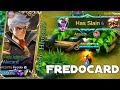 Never mess with Alucard when fredo uses Alucard   Fredo Alucard Gameplay