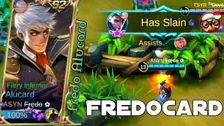 Never mess with Alucard when fredo uses Alucard | Fredo Alucard Gameplay
