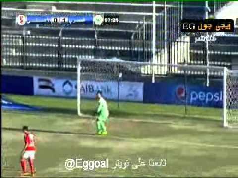 اهداف الأهلي و المصري البورسعيدي 1-1 - الدورى المصرى || 10-1-2015 ||