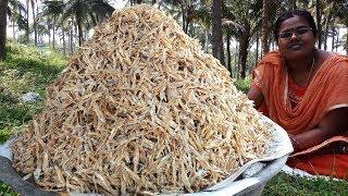 Huge Tiny Dry Fish Podimas / Ayirameen Podimas / Food Money Food