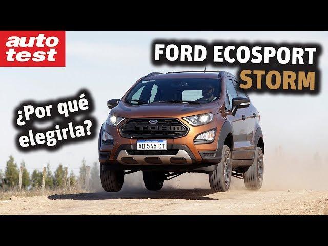 Al detalle: Ford EcoSport Storm
