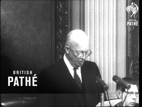 Eisenhower Defends Spying (1960)