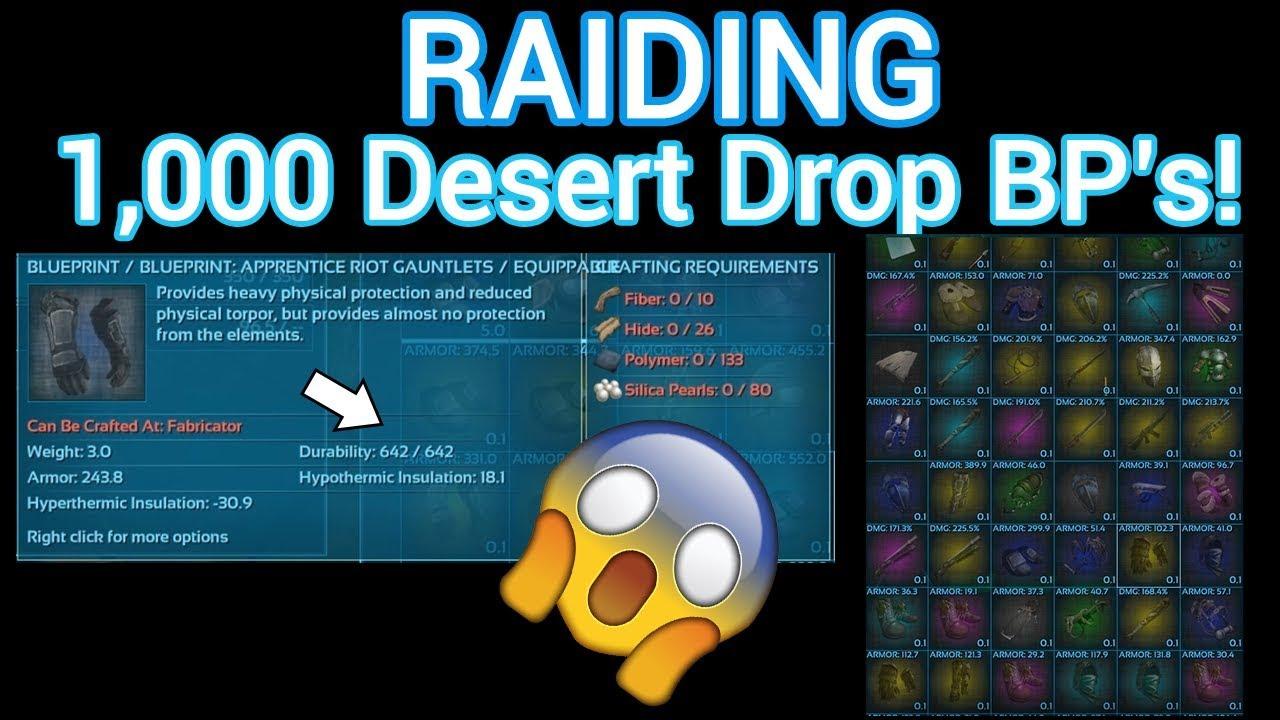 Looting 1000 desert drop blueprints ark official pvp youtube looting 1000 desert drop blueprints ark official pvp malvernweather Gallery