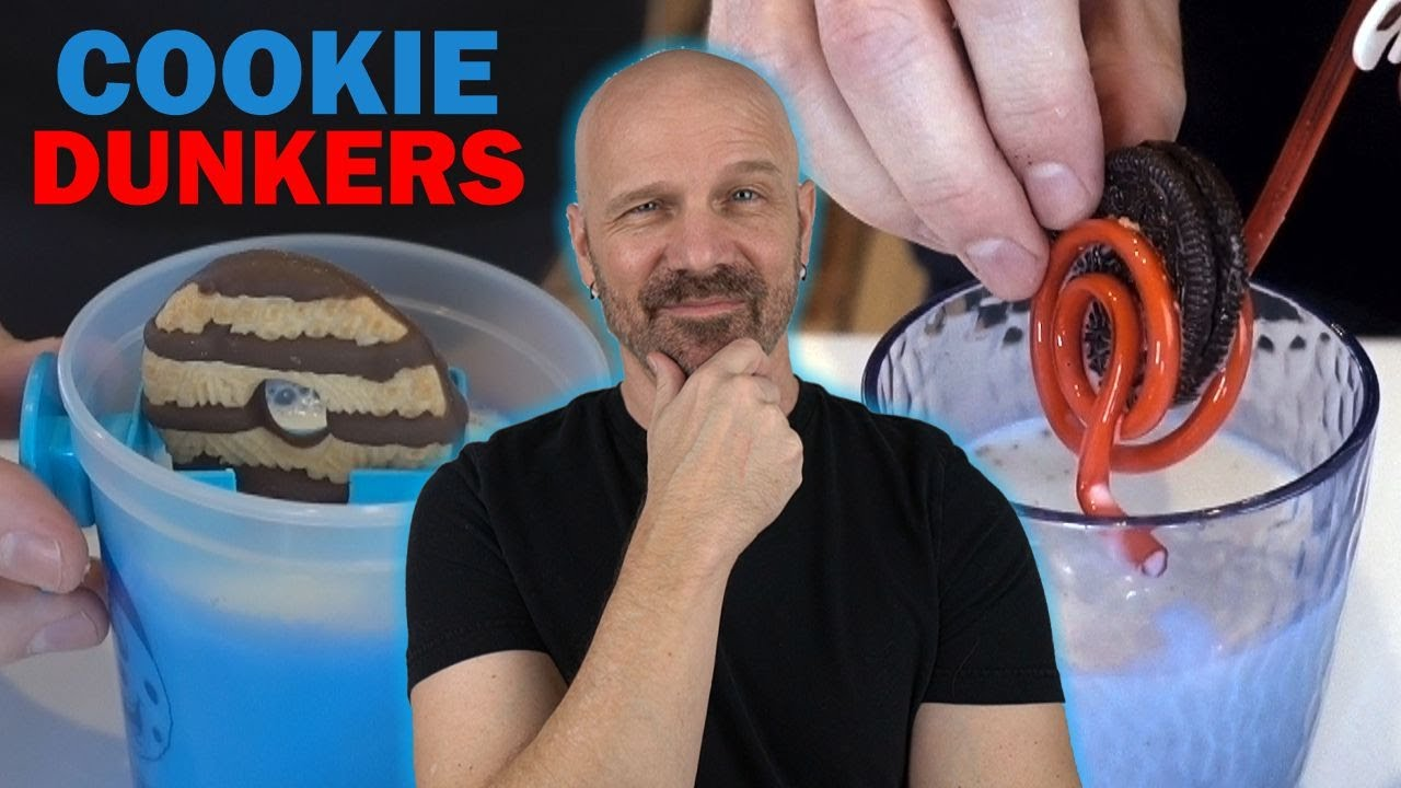 Testing 3 Cookie Dunking Gadgets!