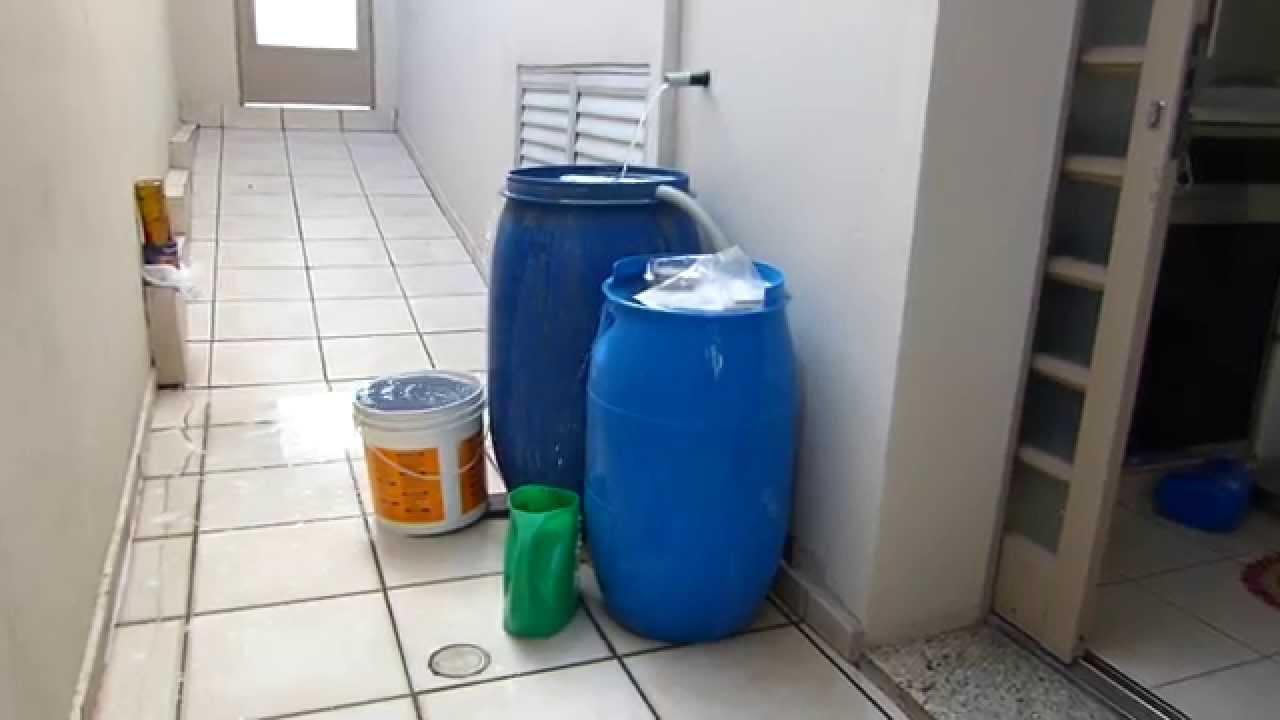 Armazenando gua da m quina de lavar youtube - Maquina de agua ...