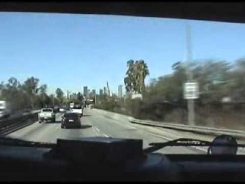 Pico Rivera California through LA California