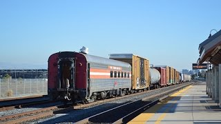 [HD] 4 Days of Santa Clara Railfanning - An Ex SLRG Dining Car, a Pre-Production GEVO, and More