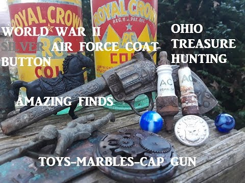 OHIO Treasure Hunting Digging OLD DUMP Archaeology FINDS