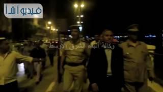 مدير أمن سوهاج يتفقد الحالة الأمنية بشارع كورنيش النيل الشرقى مع احتفالات عيد القيامة