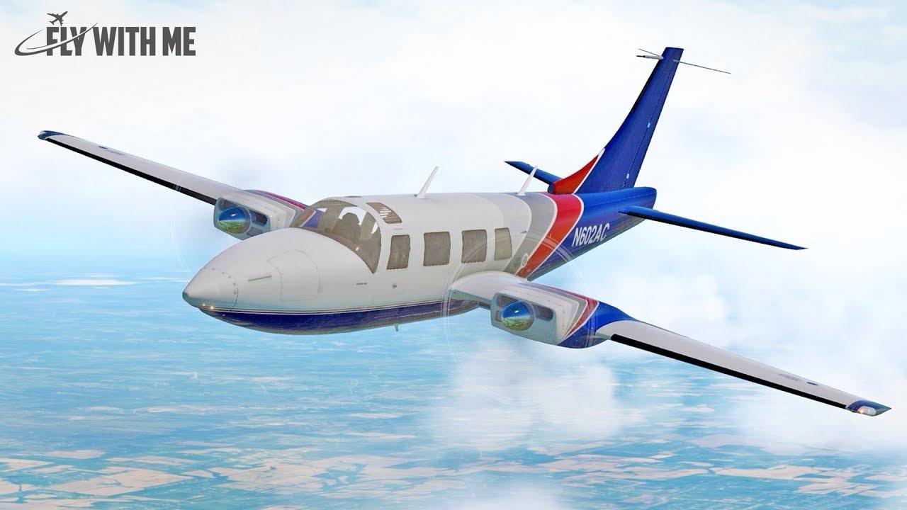 X-Plane 11 - Avia71 Aerostar 601P - Video - ViLOOK