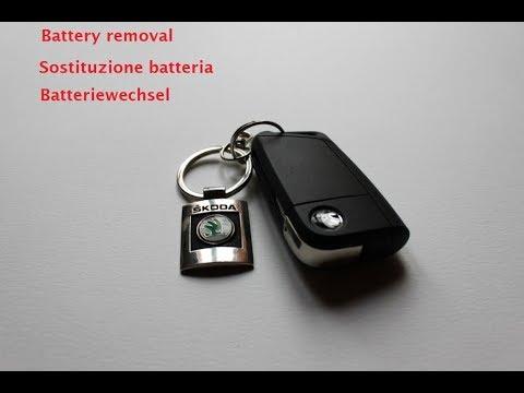 come aprire tiguan con batteria