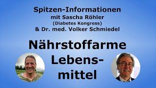 Nährstoffarme Lebensmittel in der heutigen Zeit - Dr. med. Volker Schmiedel