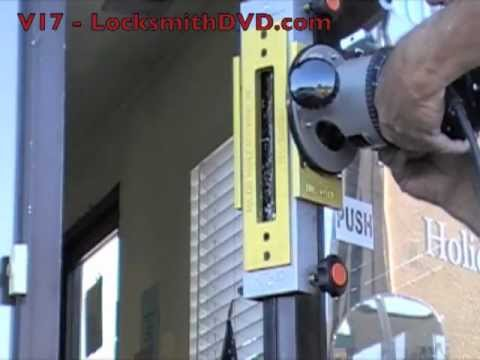 LocksmithDVD Training V17 - Installing An Electric Strike