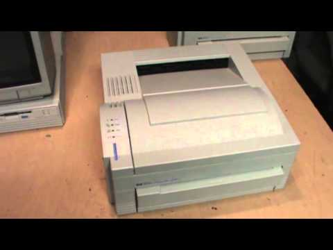 hp laserjet 4l and 4ml printers youtube. Black Bedroom Furniture Sets. Home Design Ideas