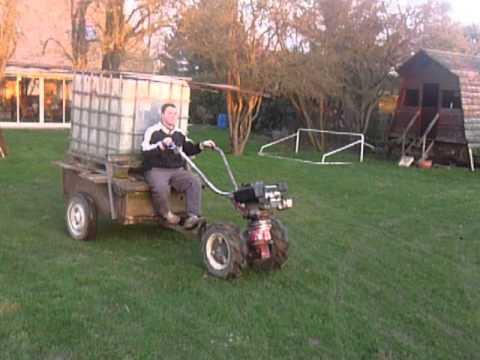 motoculteur briban avec sa remorque1 youtube. Black Bedroom Furniture Sets. Home Design Ideas