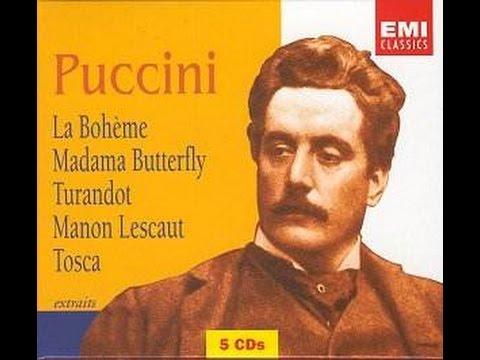 Giacomo Puccini: Biografía. Óperas. Giacomo Antonio Domenico Michele Secondo Maria Puccini