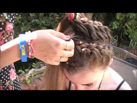 Tutorial de peinados con trenzas youtube - Tutorial de peinados ...