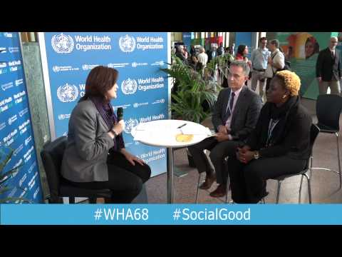 WHO: World Health+SocialGood 20 May 2015 (full webcast)