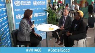 WHO: World Health+SocialGood 20 May 2015 (full webcast)