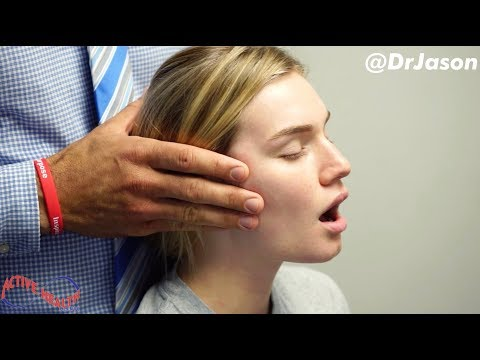 Dr. Jason - MASSIVE JAW ADJUSTMENT (TMJ) - FULL TREATMENT WITH MUSCLE REHAB