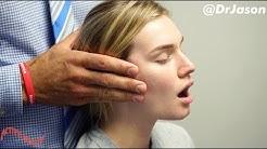 Dr. Jason - MASSIVE JAW ADJUSTMENT (TMJ) - FULL TREATMENT WITH MUSCLE REHAB