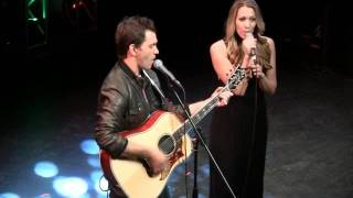 Andy Grammer and Colbie Caillat 'Fine By Me' - G105