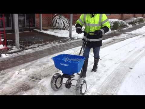 Winter Spreader - For Use With Salt And Ice Melt