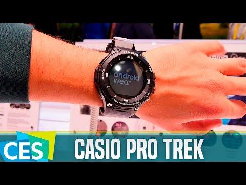Casio Pro Trek, primeras impresiones #CES17