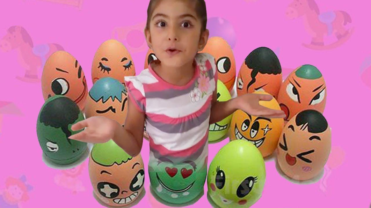 Sulu Boya Ile Yumurtalara Resim çizdik Yumurta Boyama Youtube