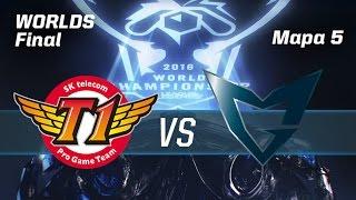SKT TELECOM T1 VS SAMSUNG GALAXY - #FinalWorldsLVP - World Championship 2016 - Mapa 5 - GRAN FINAL