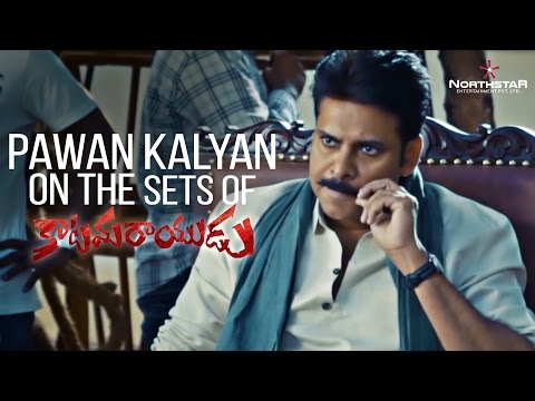 Thumbnail: Pawan Kalyan On The Sets Of Katamarayudu