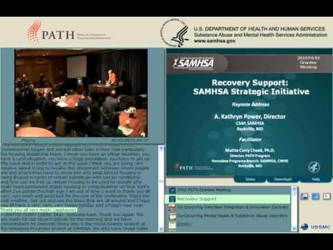 SAMHSA's Recovery Support Strategic Initiative, CODI, & PATH and HMIS