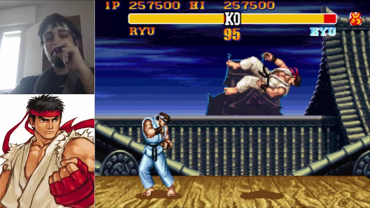 Street Fighter 2 Ryu S Stage Youtube