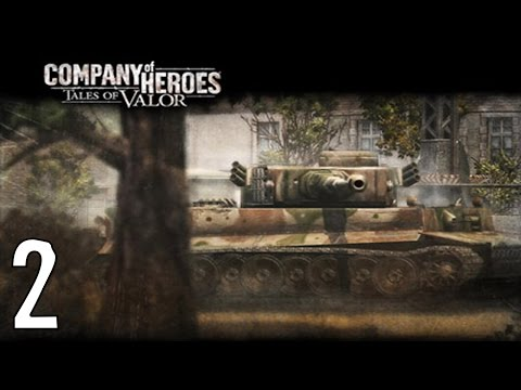 Company of Heroes Tiger Ace Part 2 Retreat from Villers-Bocage |