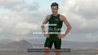 Javier Gómez Noya y 'Persigue tu Sueño, Supera los Obstáculos' de Bridgestone