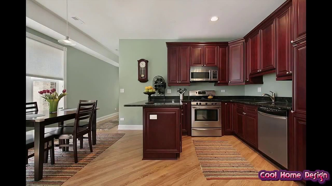 Kitchen Paint Ideas with Maple Cabinets - YouTube on Maple Cabinets Kitchen Ideas  id=52070