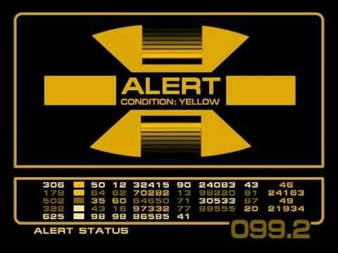 Alert Screens - 23rd Century LCARS