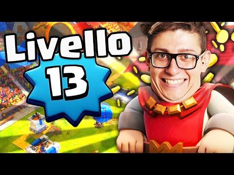 FESTEGGIAMO INSIEME IL LIVELLO 13 SU CLASH ROYALE !!