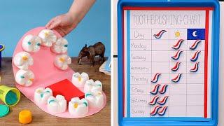 Crafty Ways To Make Toothbrushing More Fun