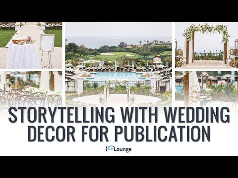 Storytelling With Wedding Decor For Publication