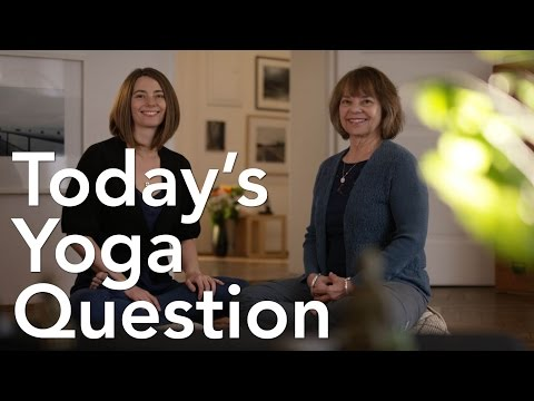 Today's Yoga Question #2: Why did you start doing restorative yoga?