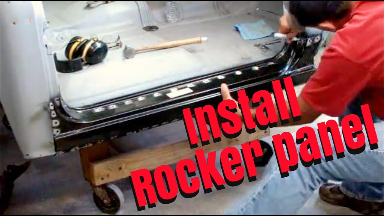 welding how to set for rocker panels